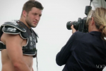 Tebow Goes Shirtless for Vogue
