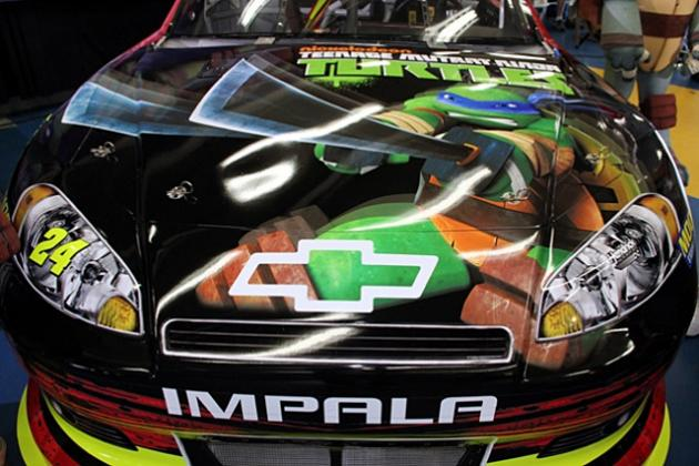 Gordon Teams Up with Teenage Mutant Ninja Turtles for Paint Scheme