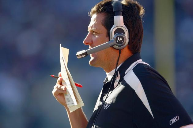 Oakland Raiders Offensive Coordinator Greg Knapp Has Got to Go