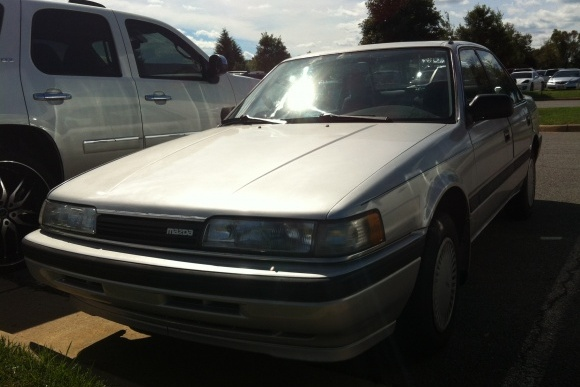 Redskins Rookie Alfred Morris Rides in 1991 Mazda 626 for Some Serious Swag