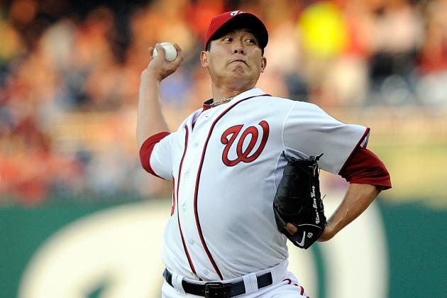 Chien-Ming Wang to Start for Nats Sunday