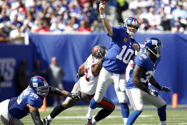 New York Giants vs. Carolina Panthers: Live Score, Video and Analysis