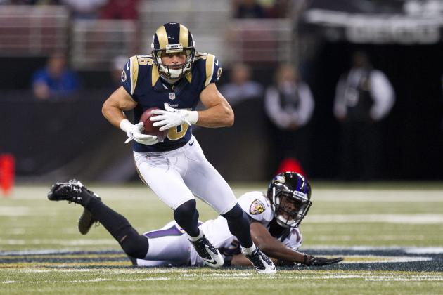 Danny Amendola, Daryl Richardson Give St. Louis Rams Hot Fantasy Football Names
