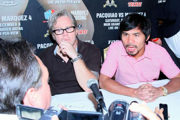 Manny Pacquiao Says He Would Take a 55-45 Split; Ball in Mayweather's Court Now