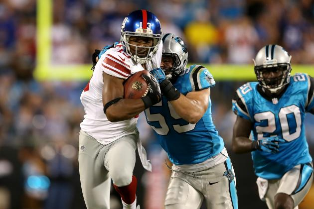 Ramses Barden: Breakout Game Doesn't Make Giants WR Long-Term Fantasy Option