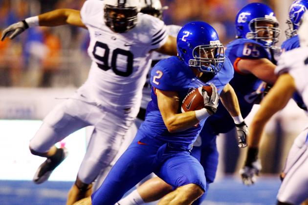 BYU vs. Boise State: Live Scores, Analysis and Results