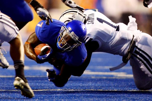 Boise State Hangs On to Defeat BYU in Ugly Win