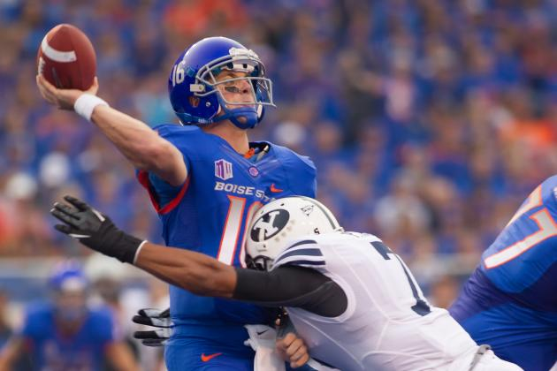 Boise State, BYU Send College Football Back to the Stone Age