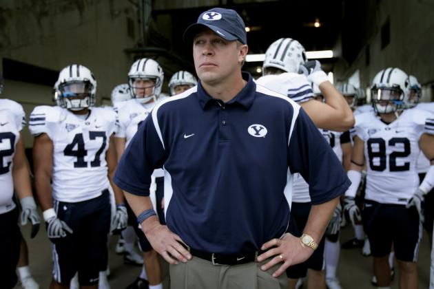 BYU Football: Time for Bronco Mendenhall to Account for Lack of National Respect