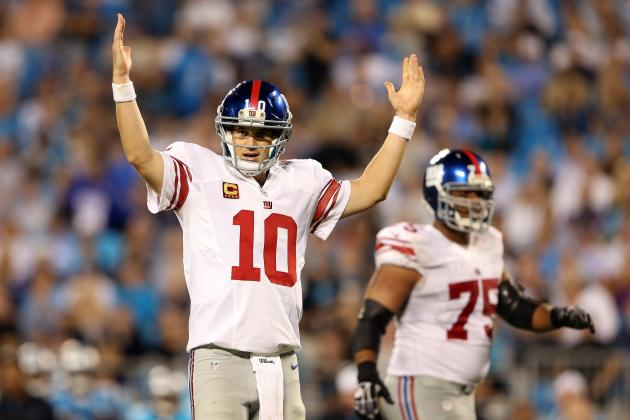 Giants vs. Panthers: How Giants Win Sheds Insight on NFC Contenders