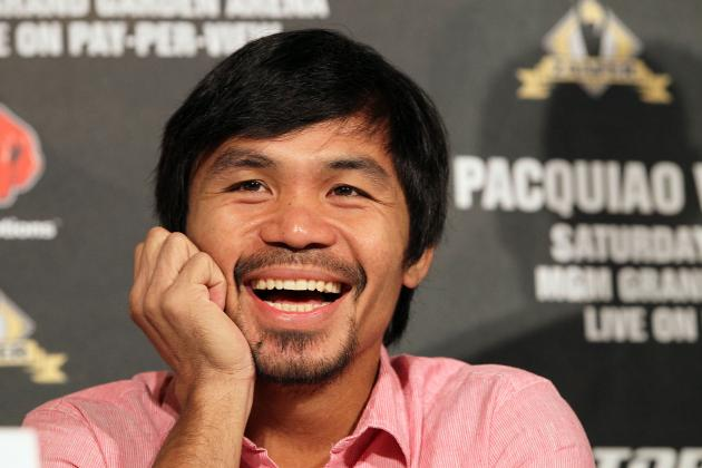 Manny Pacquiao Puts Floyd Mayweather in Tough Spot with Super Fight Comments