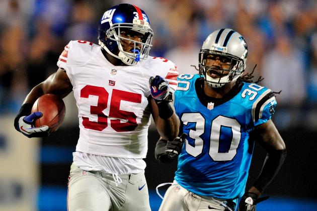 Giants vs. Panthers: 5 Most Impactful Players in Thursday Night's Blowout