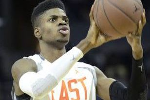 Kentucky Freshman Nerlens Noel Misses a Dunk and Falls