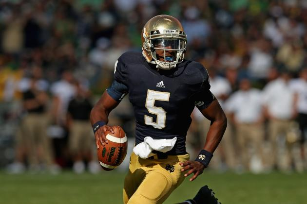 Notre Dame Football: How Everett Golson Can Outplay Denard Robinson