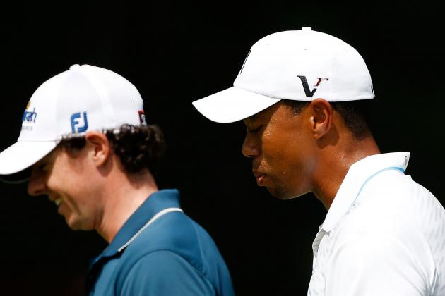 Greg Norman Says Rory McIlroy Intimidates Tiger Woods