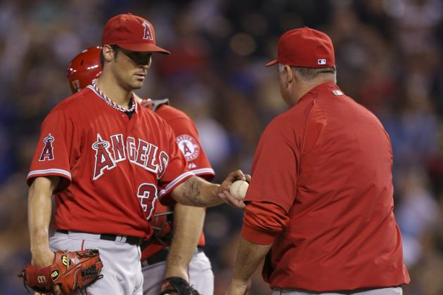 Mike Scioscia and Struggling C.J. Wilson Had Another Closed-Door Meeting