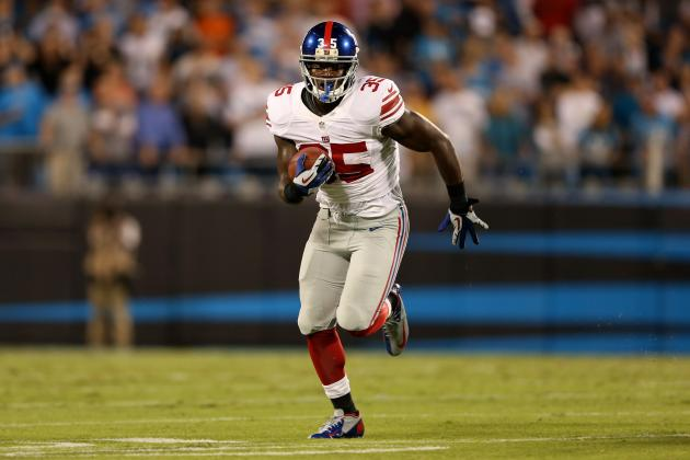 Debate: Who Should Be Giants' Starting RB Moving Forward?
