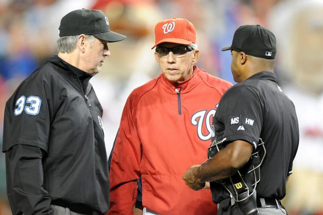 Umpire Apologizes to Johnson After Blown Call