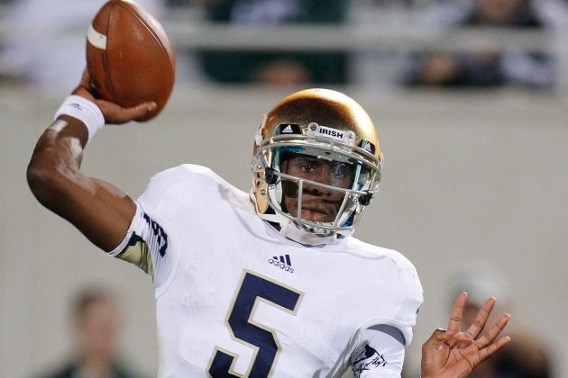 Notre Dame Football Notebook: From Emulating Robinson to Facing Him