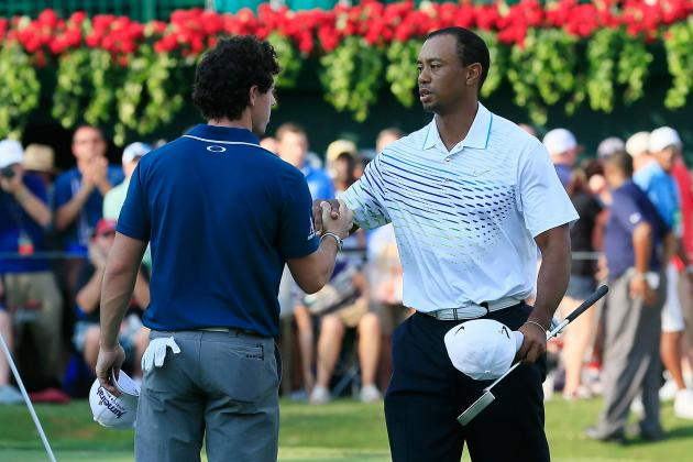 Tiger Woods TOUR Championship 2012: Why Rivalry with McIlroy Is Good for PGA