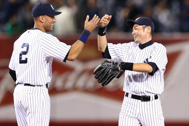 Why Are the Yankees Wasting Chance to Hit Ichiro and Jeter 1-2 in the Lineup?