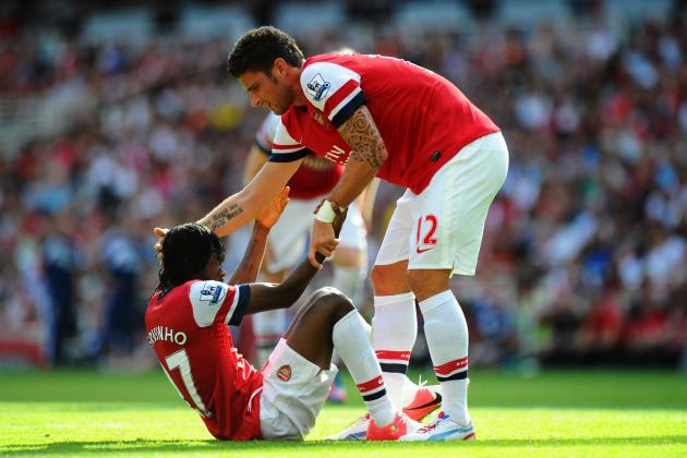 Gervinho Kicks His Arsenal Season into Gear—Is Olivier Giroud Next?
