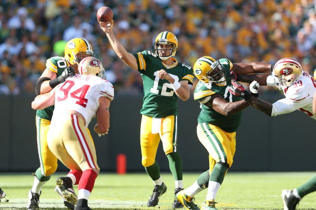 Packers Breakdown: Aaron Rodgers Incompletions Through 2 Games