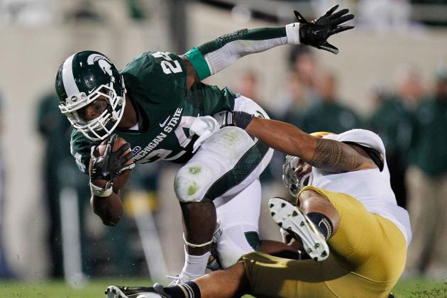 Michigan State RB Le'Veon Bell Not Allowing Another Setback