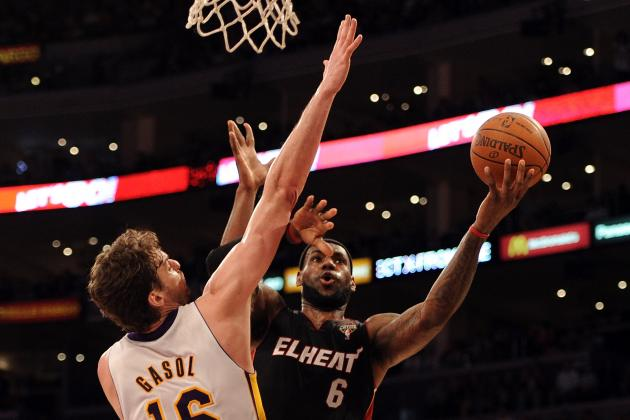 NBA 2K13 Player Ratings: Lakers vs. Heat, Who Is the Best?