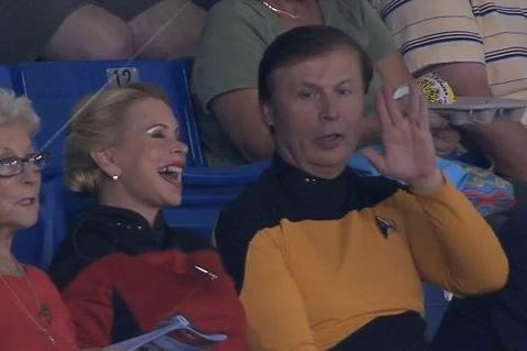 Tampa Bay Rays Throw Epic Geek Fest with Star Trek Night