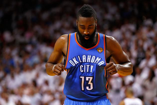 Examining James Harden's Future with OKC Thunder