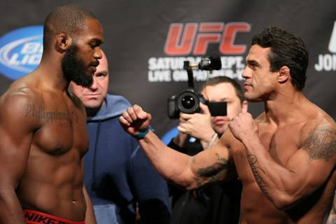 UFC 152 Weigh-in Results for Jon Jones vs Vitor Belfort Fight Card