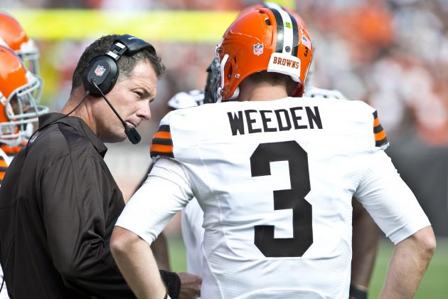Shurmur Happy with Weeden's Preparation