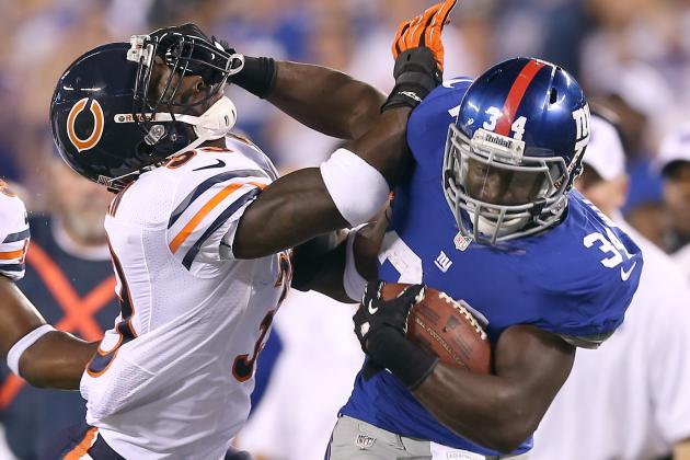 David Wilson: New York Giants RB Is a Must-Own Despite Emergence of Andre Brown