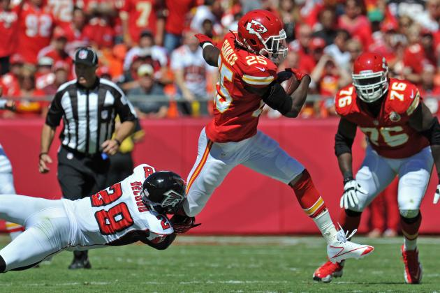 Jamaal Charles: Saints' Weak Defense Is Just What Chiefs RB Needs to Rebound