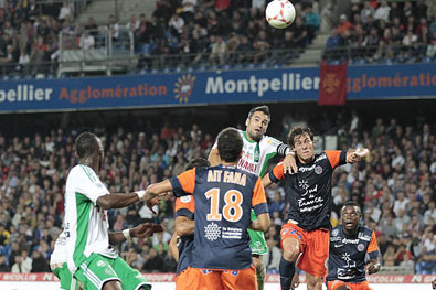 Saint-Etienne Squanders Opportunity to Take Down Defending Champion Montpellier