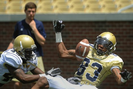 Starting Yellow Jackets Receiver Has Change of Heart