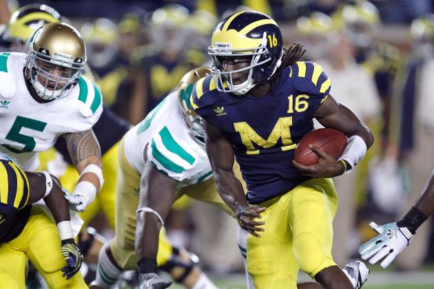 Michigan vs. Notre Dame: How Rivalry Matchup Will Shake Up the Top Ten