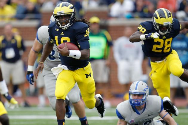 Denard Robinson: Michigan Star Will Succeed in NFL as a Quarterback