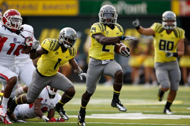 Arizona vs. Oregon: De'Anthony Thomas & Kenjon Barner Are Best 1-2 Punch in CFB