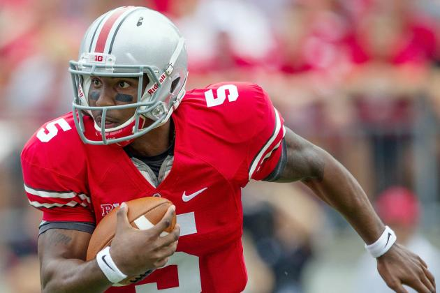 Ohio State QB Braxton Miller Hits UAB with a Nasty Spin Move