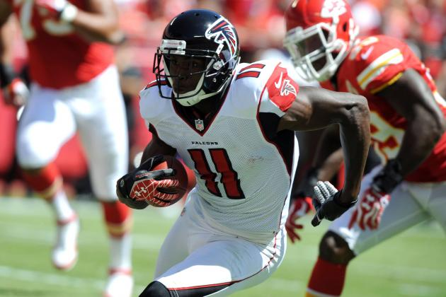 Julio Jones: Atlanta Falcons WR Is a Must-Start vs. Chargers in Week 3