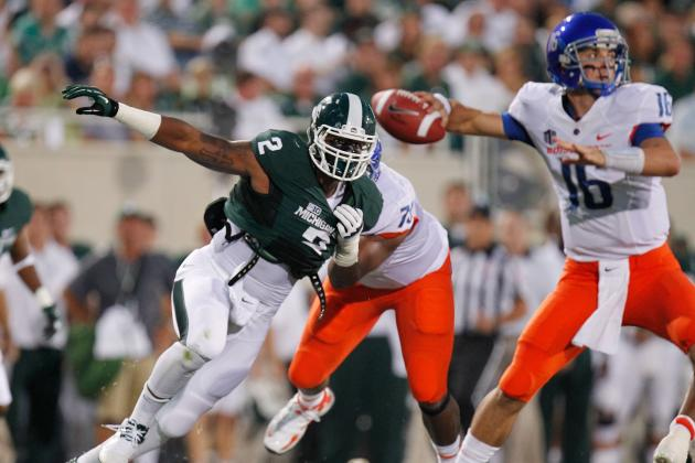 Will Gholston Not Starting for Michigan State Against Eastern Michigan