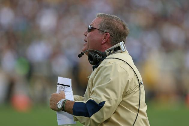 Michigan vs. Notre Dame: Why Brian Kelly Needs Irish Victory
