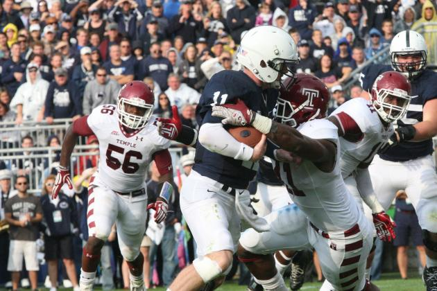 Matt McGloin and Allen Robinson Shine Again in Penn State Victory over Temple