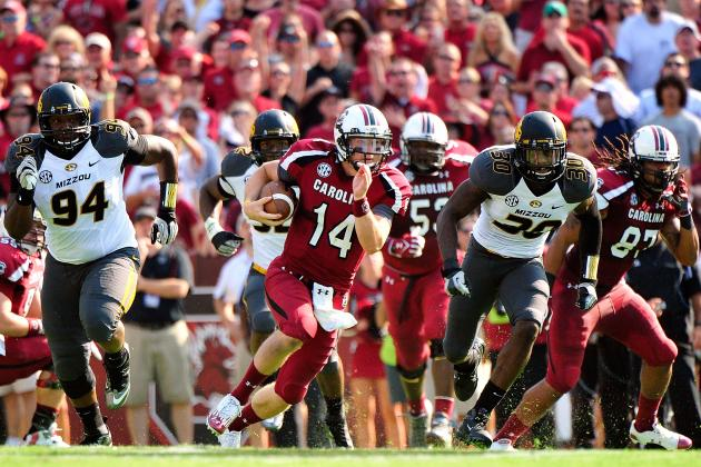 Connor Shaw: Injured South Carolina QB Shines in Missouri Beatdown