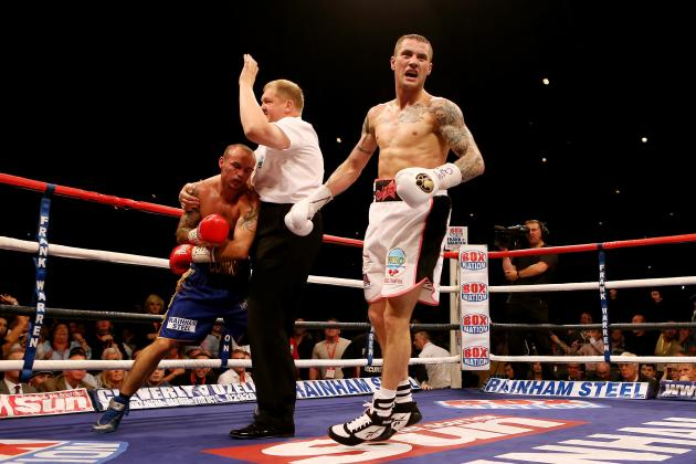 Ricky Burns Crushes Kevin Mitchell and Carl Frampton Dominates Steve Molitor
