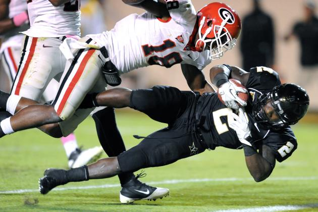 Vanderbilt vs. Georgia: Live Scores, Analysis and Results