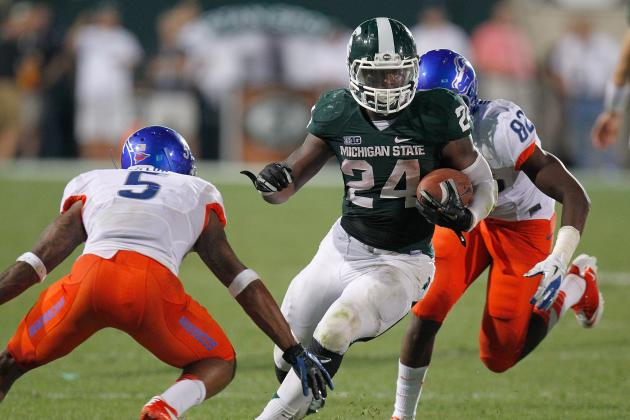 Le'Veon Bell Needs Serious Help If Michigan State Is Going to Win the Big Ten