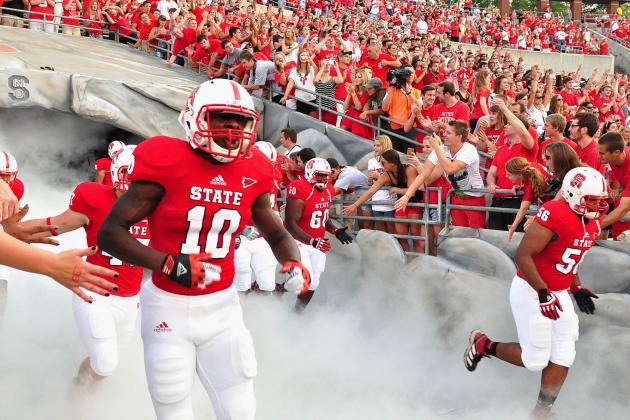 NC State 52, the Citadel 14